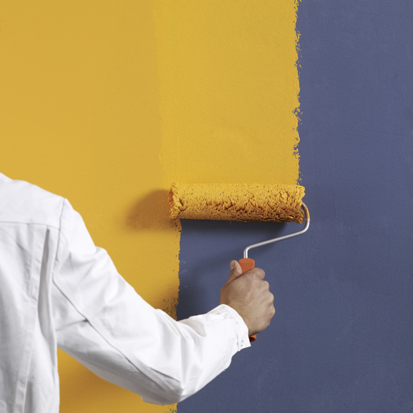 Hochwertige Innenwandfarben auf Acrylharz-, Silikon-, Silikatbasis